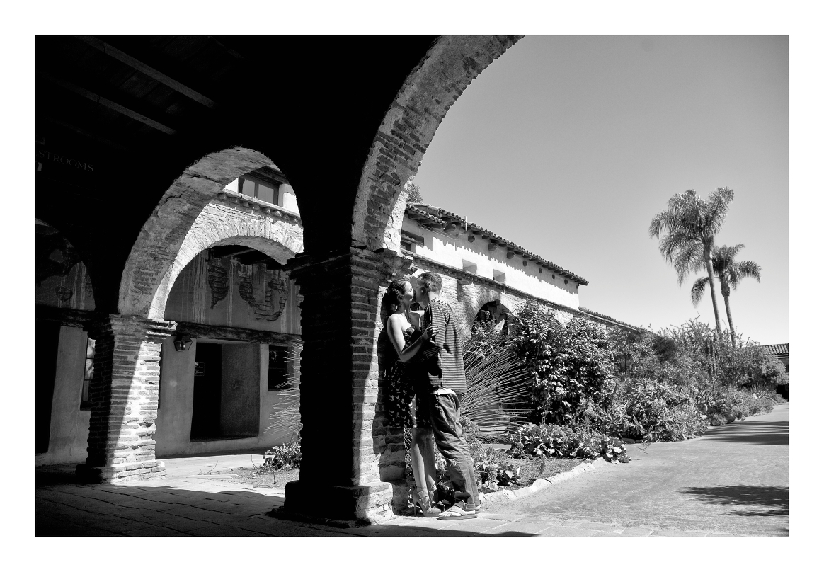San Juan Capistrano Mission Engagement Session