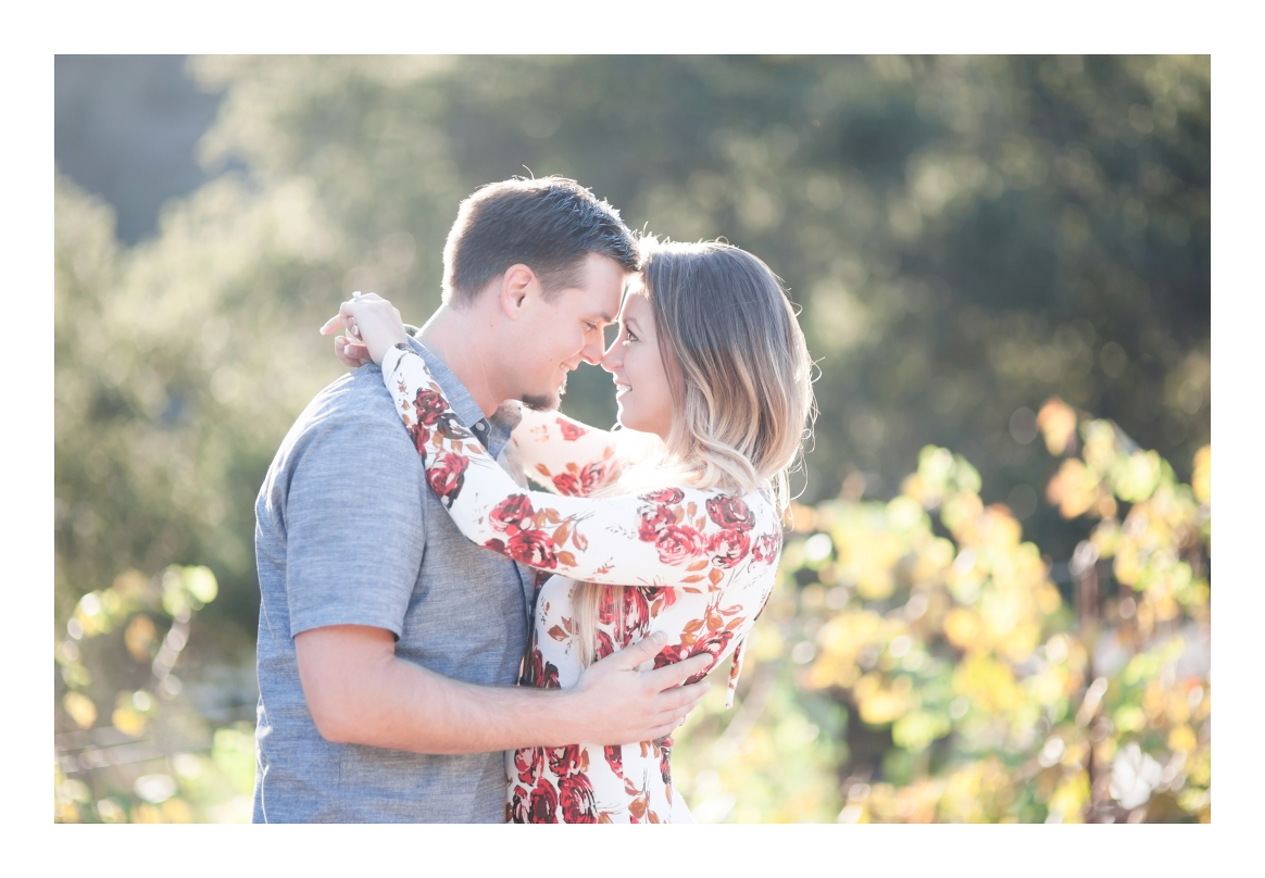 Giracci Vineyards engagement with Weddings by Cortney Helaine